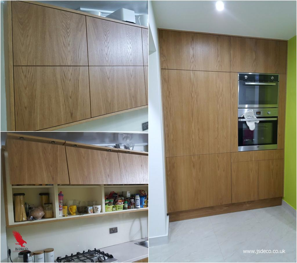 Modern style fitted kitchen furniture wakefield.
