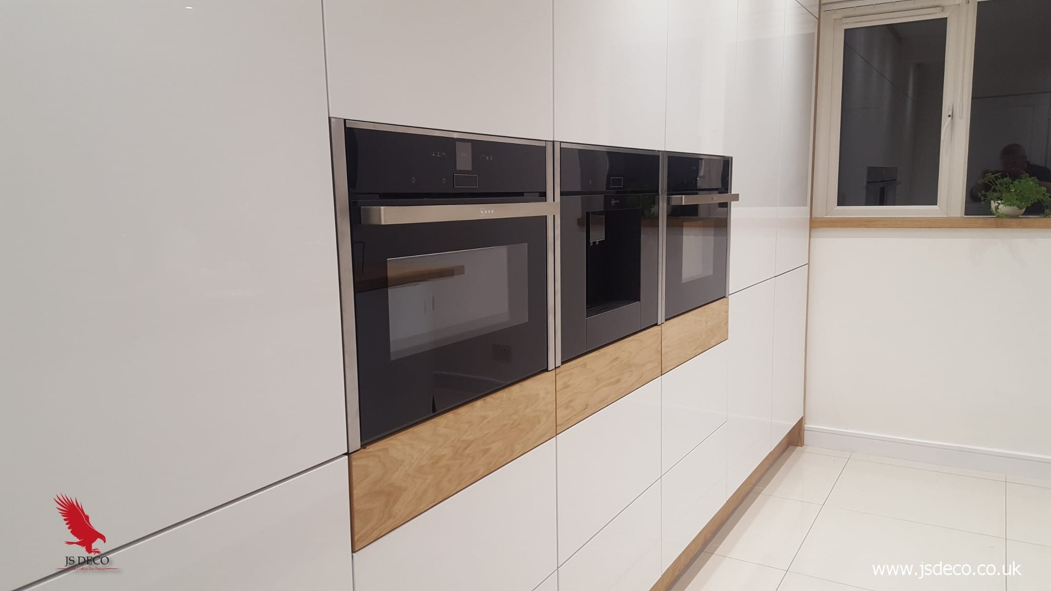 High gloss modern style kitchen, Halifax