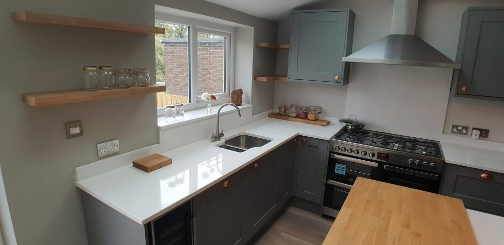 House extension bespoke kitchen Leeds, Pudsey