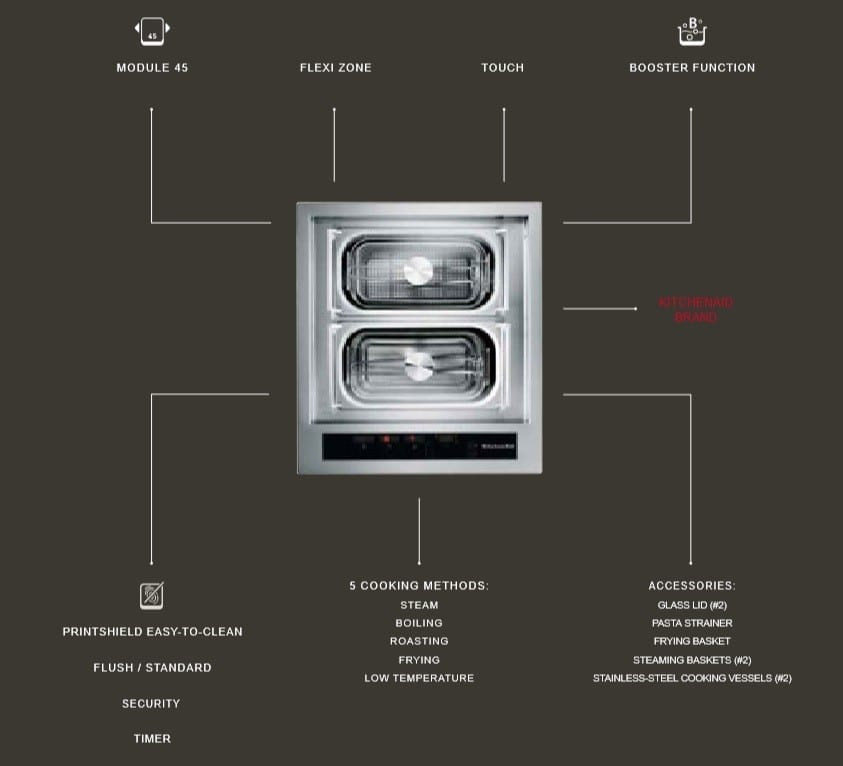 Kitchenaid product features