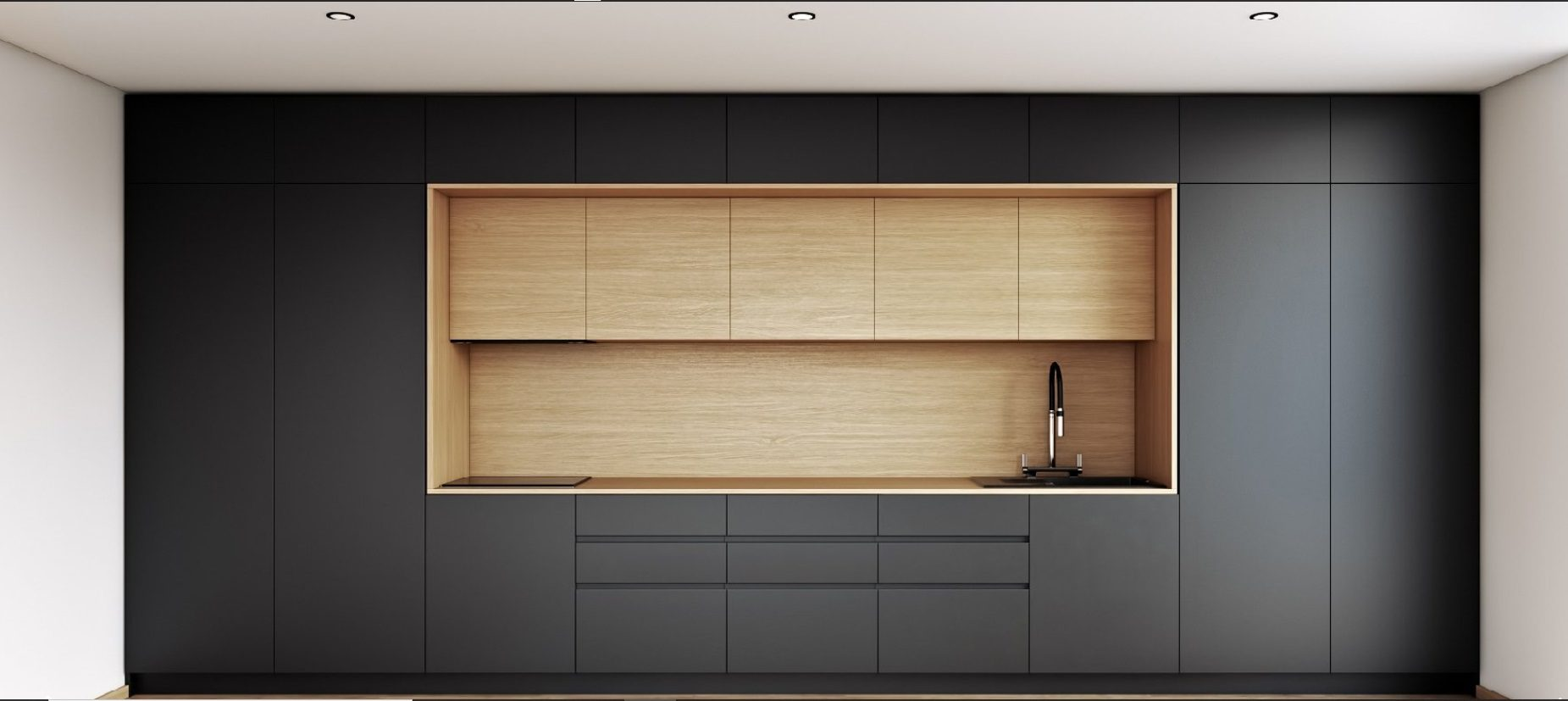 Fenix laminate premium kitchens