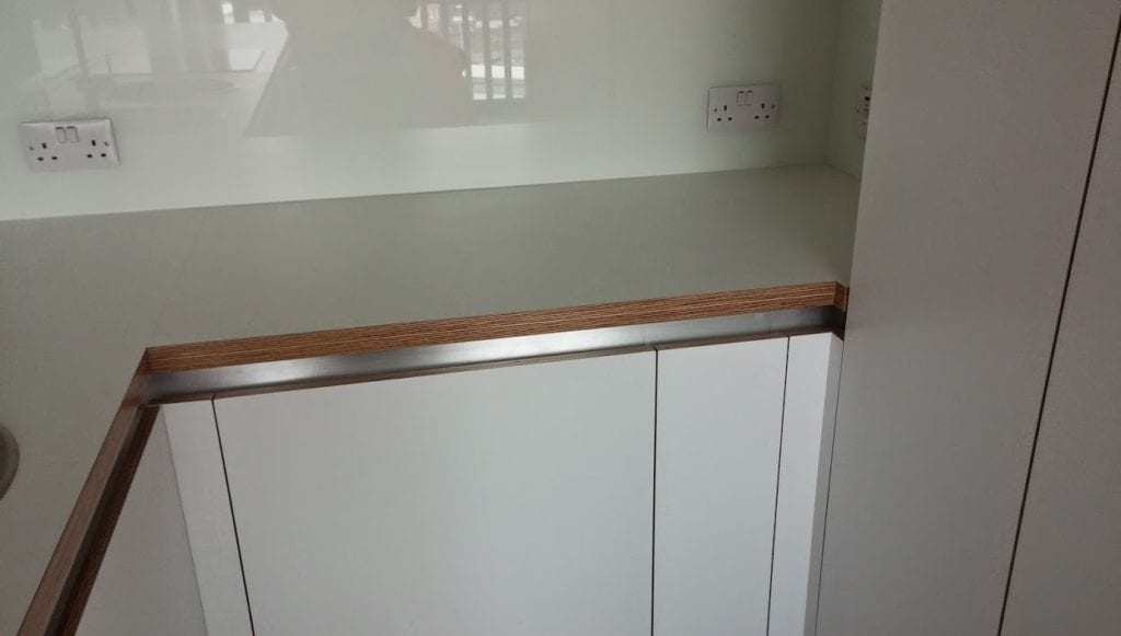 Plywood Kitchen worktops