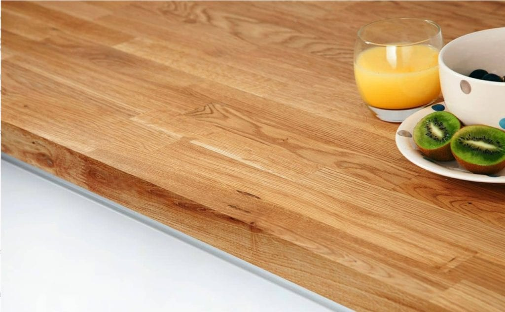 Soulid wood worktop