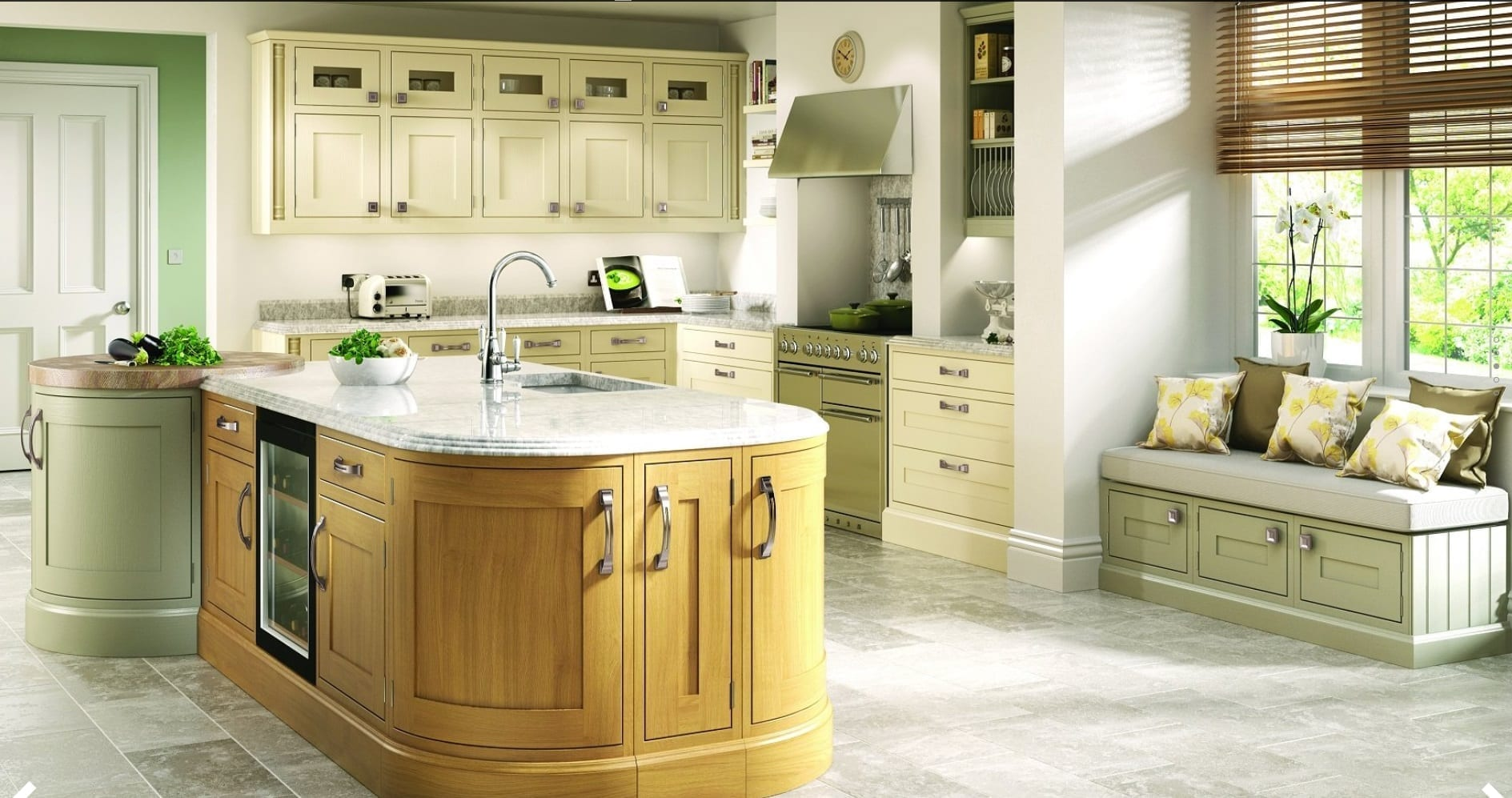 Luxury traditional inframe kitchens