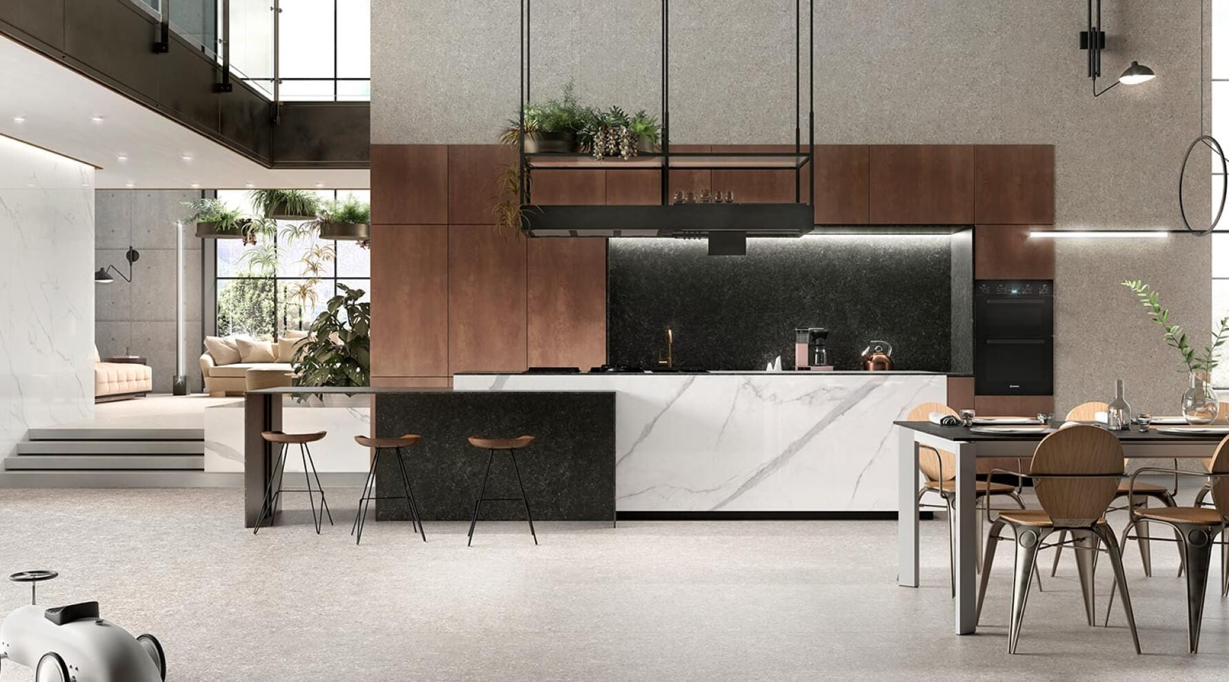 Clay premium ceramic kitchens