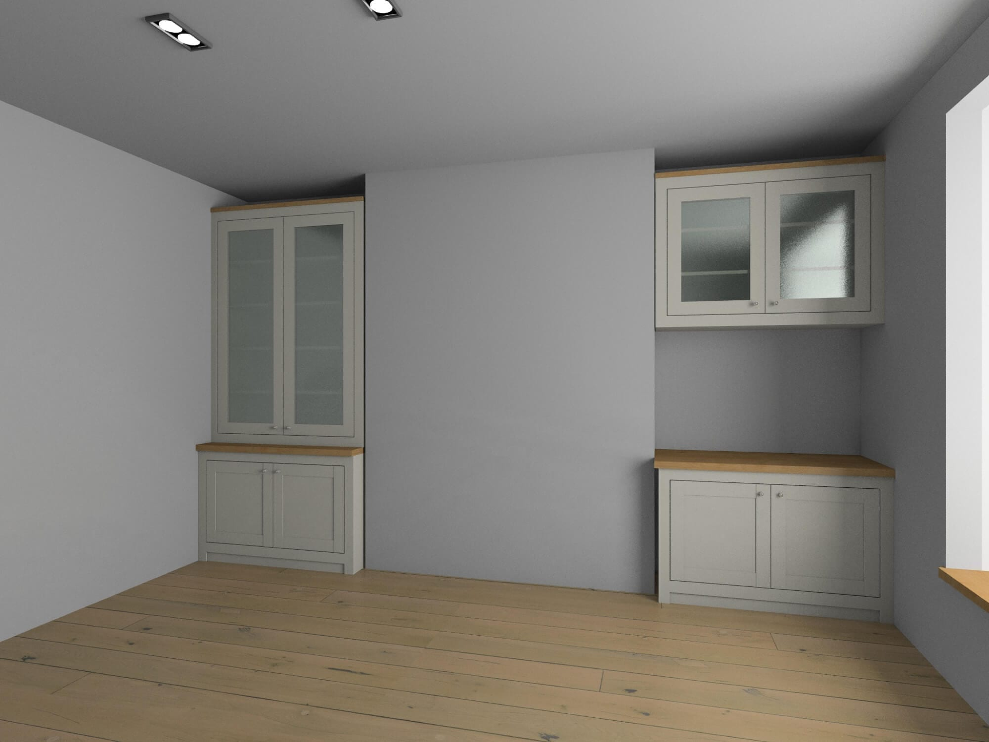 Alcove project rendering